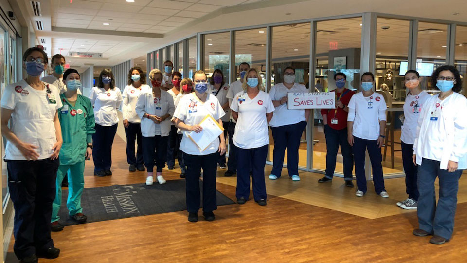 National Nurses United scores landslide win in North Carolina