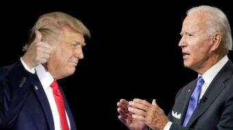 Trump defends Kenosha killer; Biden says president is 'toxic'
