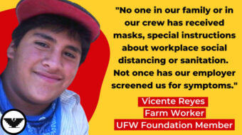 Farm Worker tells lawmakers about undocumented, but essential, workers