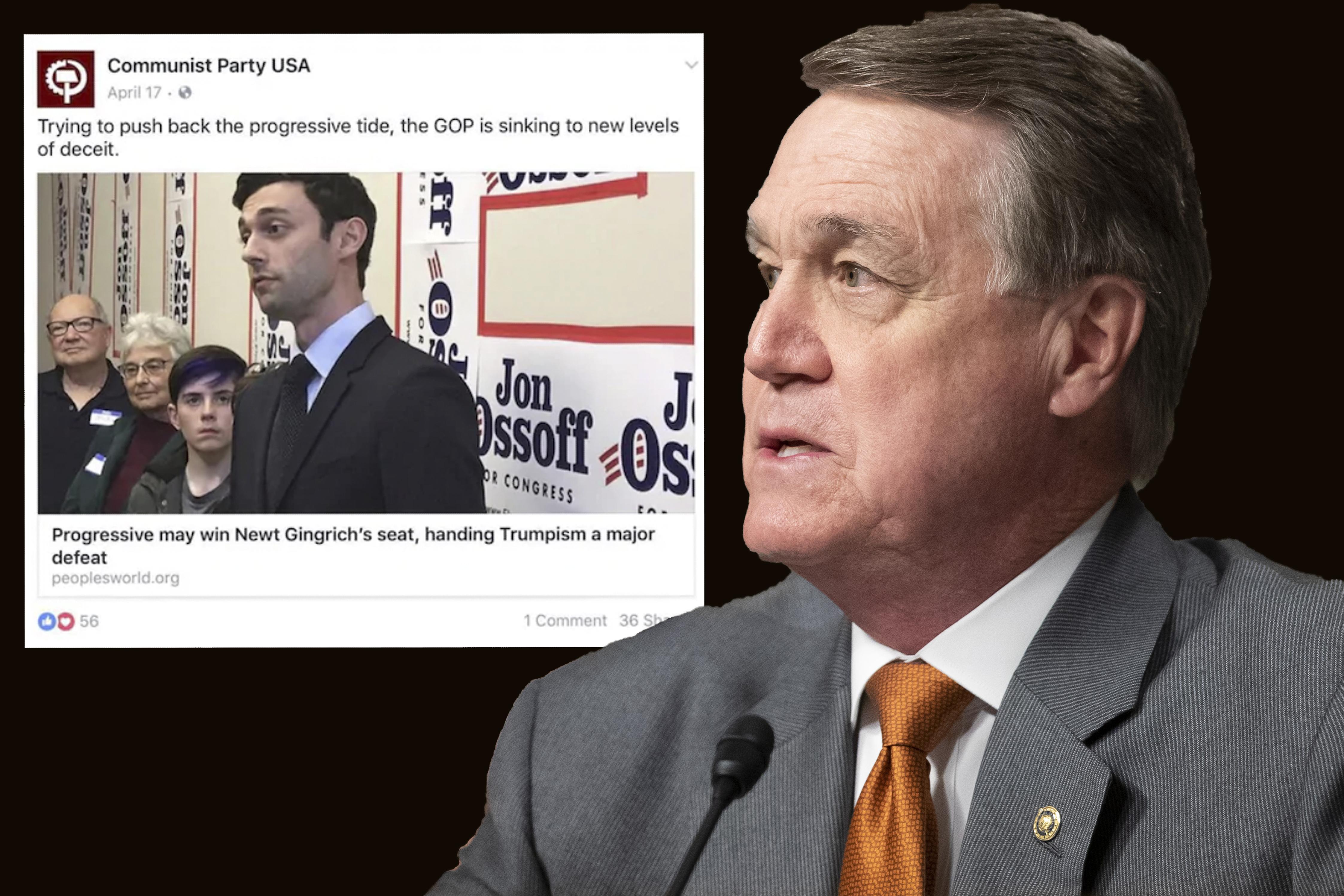 Republican senator uses People's World in anti-communist smear attack