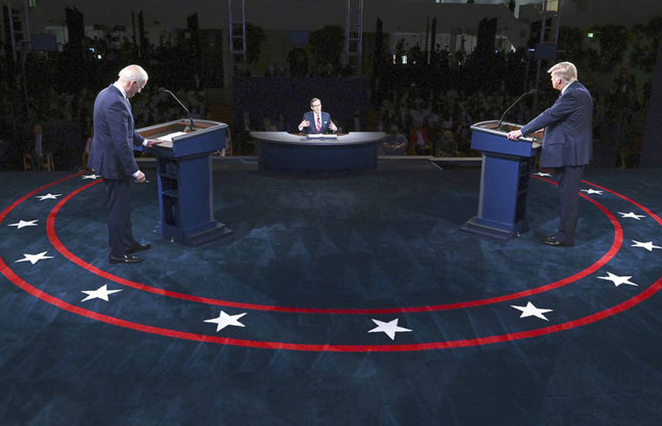 Climate crisis gets only 10 minutes at end of presidential debate