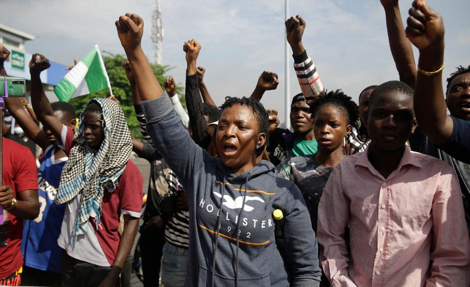 Nigeria's #EndSARS police brutality protest movement morphs into nationwide uprising