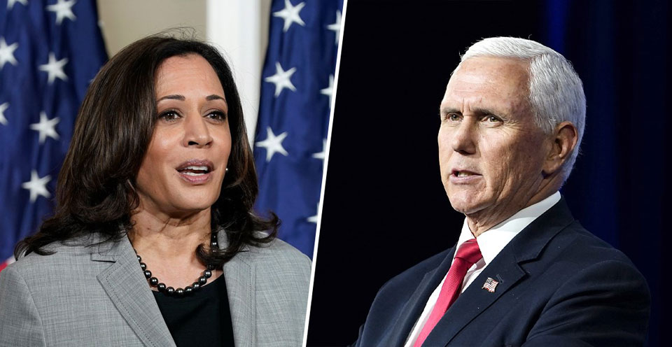 Harris lays out a vision, Pence defends the indefensible
