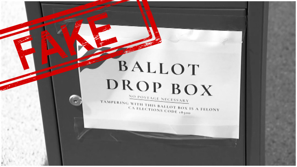 Republicans installed illegal ballot drop boxes in California; elections officials order removal