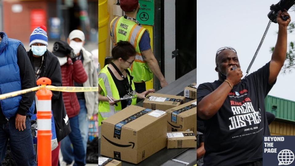 People's World Podcast: Trump's Depression economy, organizing at Amazon, and voter suppression