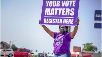 Cori Bush, nurse turned BLM leader and congressional candidate, pushes turnout