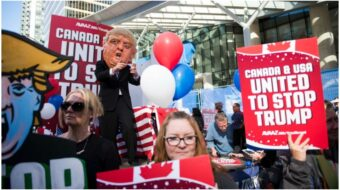 Save the world, defeat Trump: Thoughts from a fellow worker in Canada