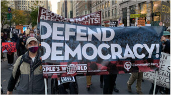 Communist Party sends the call: Defend the votes