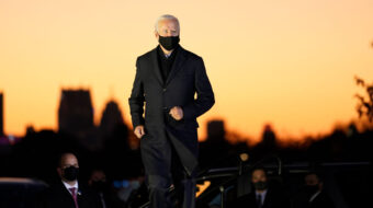 Biden reaffirms commitment to rejoining Paris climate accord