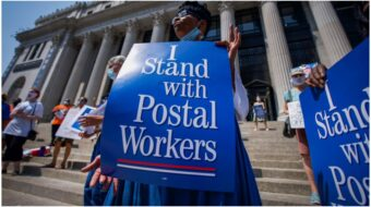 Postal Workers saved election, now need help to stop privatization