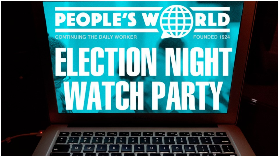People's World Election Night Watch Party