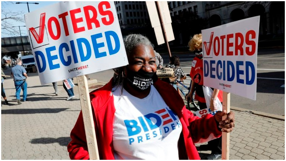 People power stops a racist GOP electoral coup in Michigan