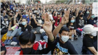 Thai students lead charge against military rulers and monarchy