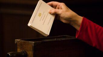 Electoral college votes today to preserve democracy in America