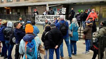 New York tenants battle privatization of public housing