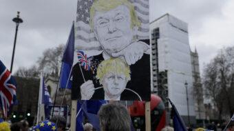 Trump's mob violence earns transatlantic condemnation