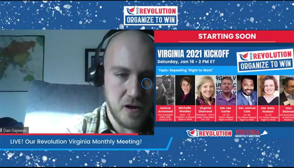 Virginia: Campaign to repeal 'Right to Work' law