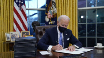 These are Biden's Day One actions on climate and environment