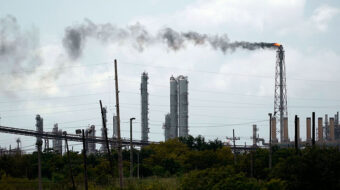 Texas refineries used storm to hide release of tons of pollutants