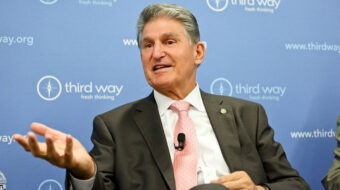 Conservative Democrat Joe Manchin playing a dangerous game