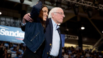 With new bill, Sanders and AOC press Biden to declare a 'climate emergency'
