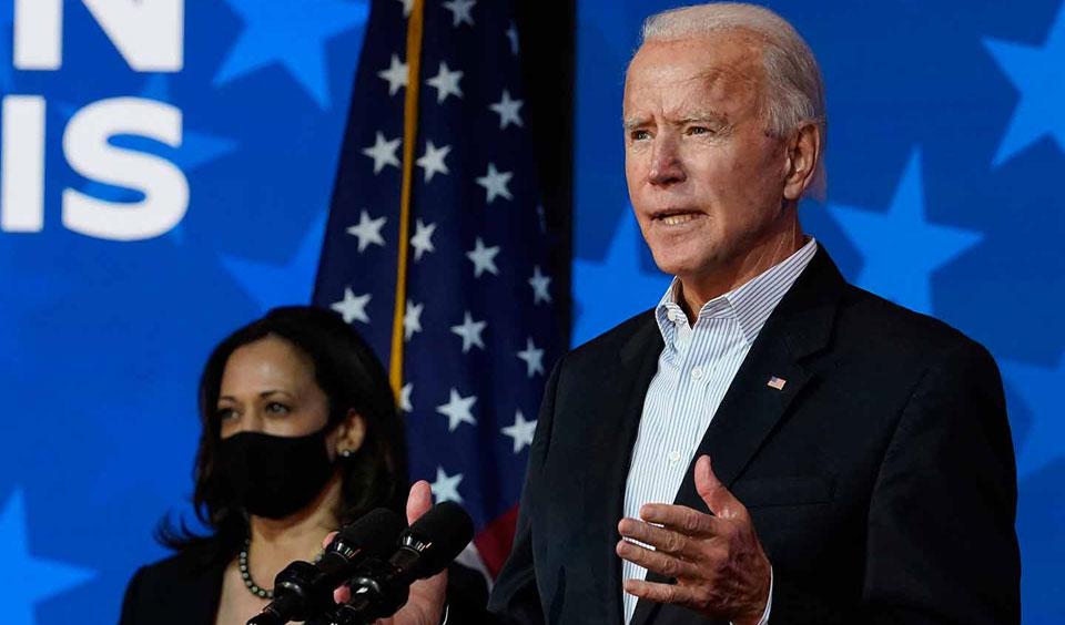 """We're in a national emergency,"" President Biden says"