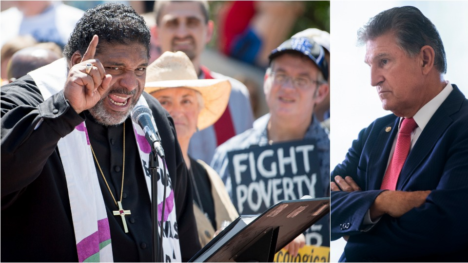 Poor People's Campaign targets Manchin in drive for $15 minimum wage