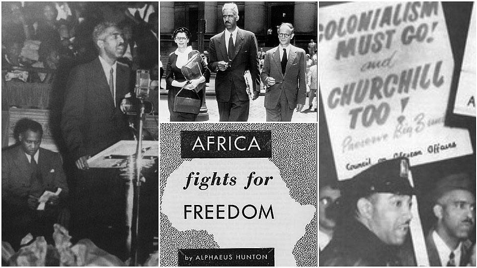 Communist Alphaeus Hunton drew together anti-fascist, anti-racist, anti-colonial struggles