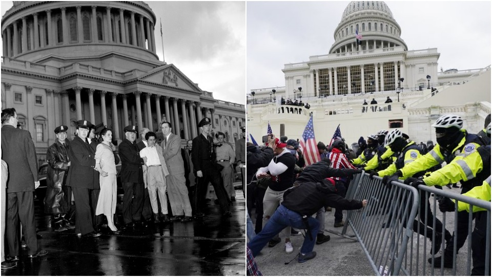 On big lies and insurgencies: Comparing Capitol attacks