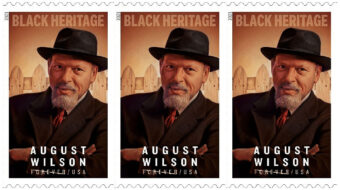 African-American playwright August Wilson honored on 'forever' stamp