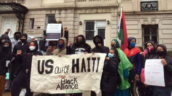 Solidarity rallies call for end to U.S.-backed dictatorship in Haiti