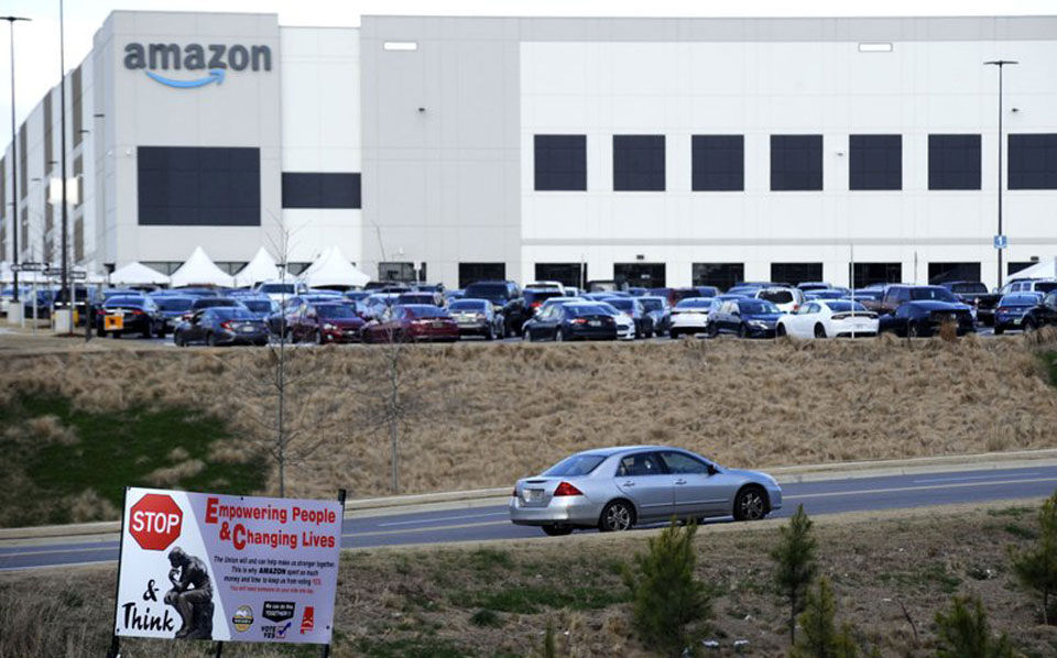 'Lighting a fuse': Amazon vote could spark more union pushes