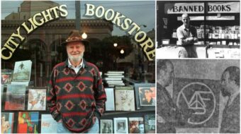 Lawrence Ferlinghetti, a Veteran For Peace