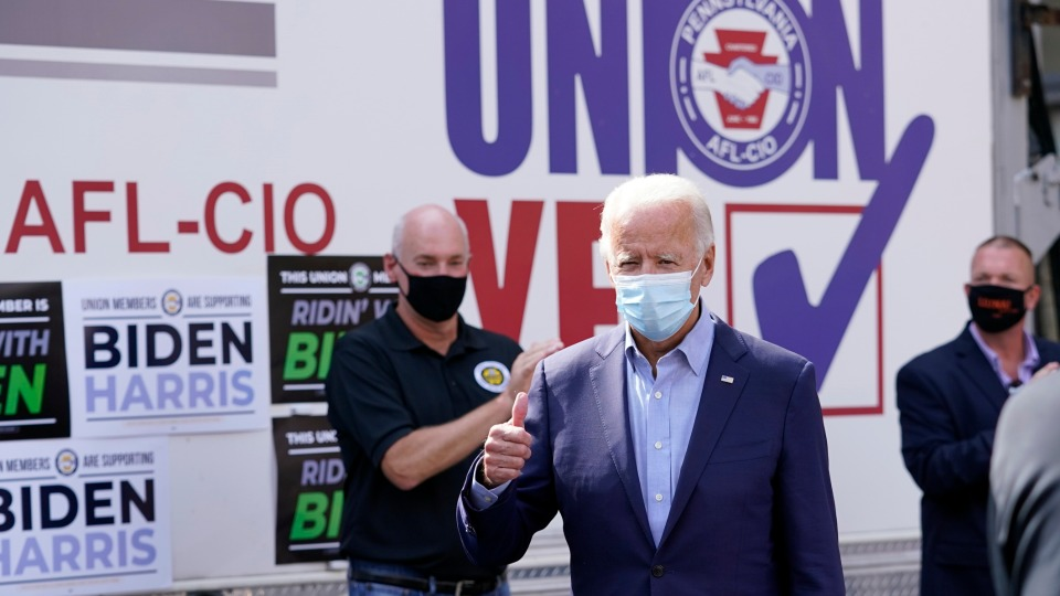 Biden just proved to workers that he's got our backs