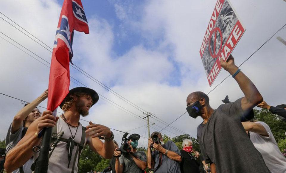 White supremacist propaganda increased in 2020, report says