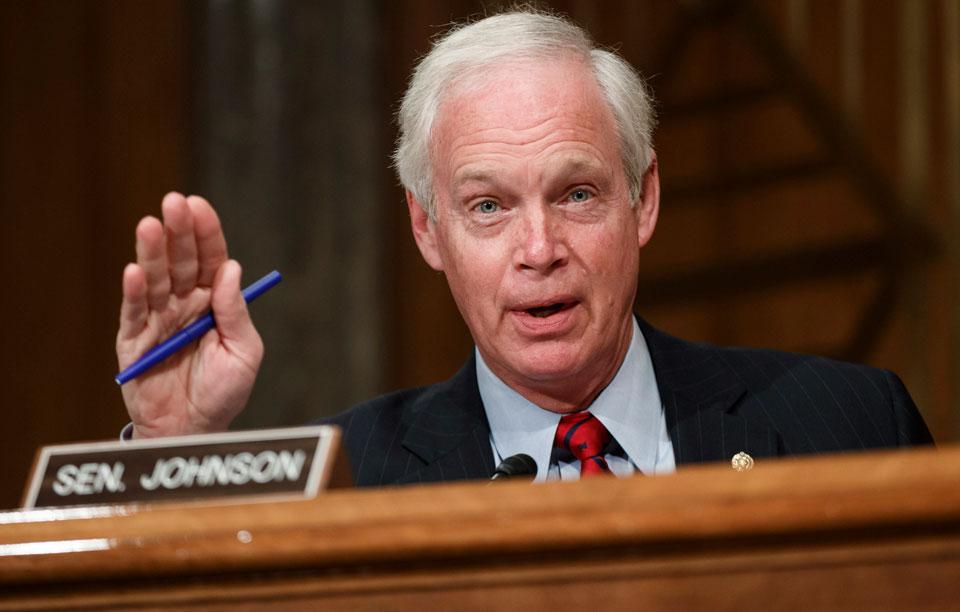 GOP Sen. Ron Johnson of Wisconsin backs Jan. 6 insurrectionists