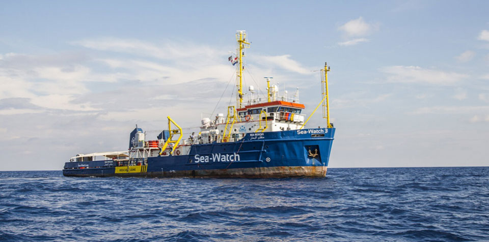 Sea Watch 3 refugee rescue ship detained in Italy again for 'saving too many lives'