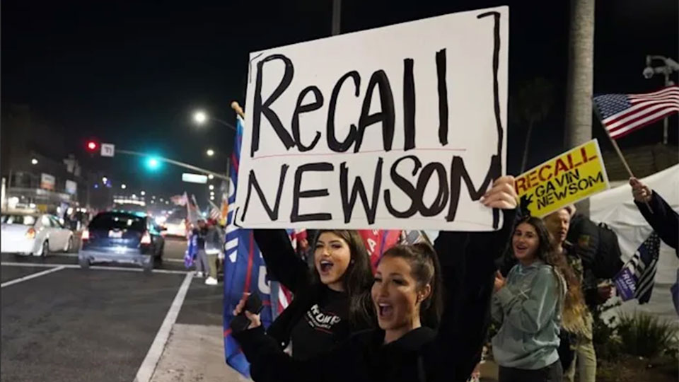 Right-wing recall election advances vs. California. Gov. Gavin Newsom