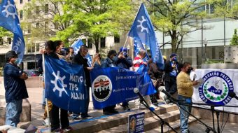 Workers' hunger strike demands permanent residency for TPS migrants