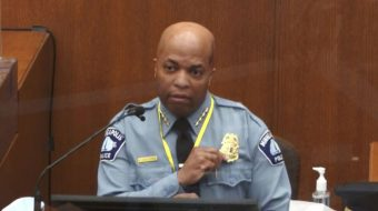 Police chief: Chauvin broke policy in pinning Floyd