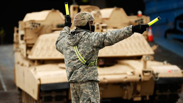 In threat to Russia, EU grants U.S. troops 'unhindered' movement across continent