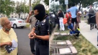 Private police harass residents at Brookland Manor community event in D.C.