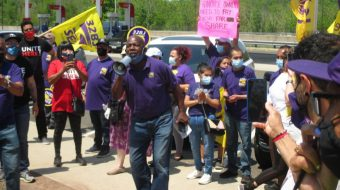 Day of action demands '$15 and a union' from McDonald's