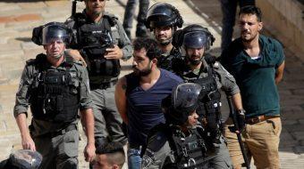 Netanyahu's police launch mass arrests of Palestinian Israeli citizens