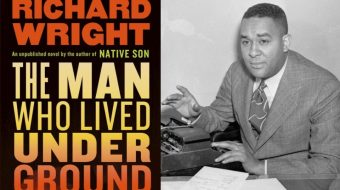 Richard Wright's new novel 'The Man Who Lived Underground' surfaces
