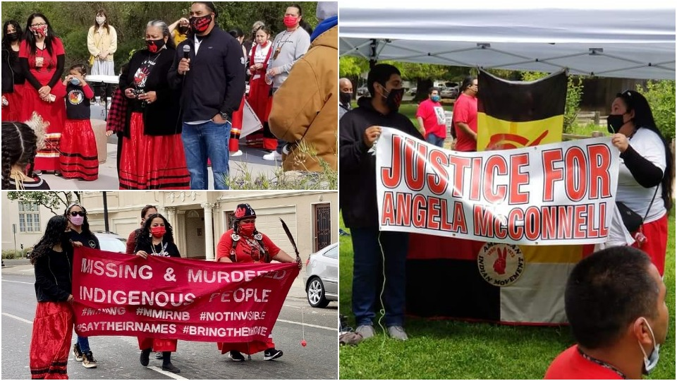 Hundreds march in California for Missing and Murdered Indigenous Women