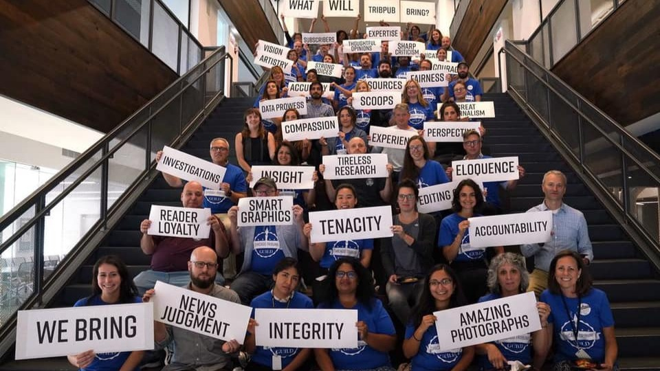News Guild fights to save newspapers from vulture capitalists
