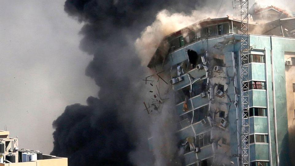 Latest Israeli airstrikes in Gaza the worst so far
