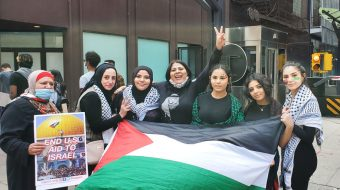 Another mass protest in Chicago over Israeli attacks on Palestinians