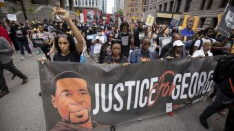 George Floyd commemoration features demands for comprehensive police reform